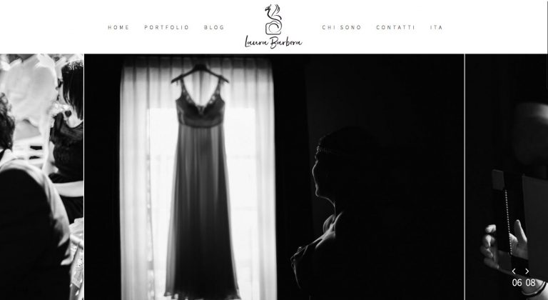 Sito web per fotografo - Laura Barbera